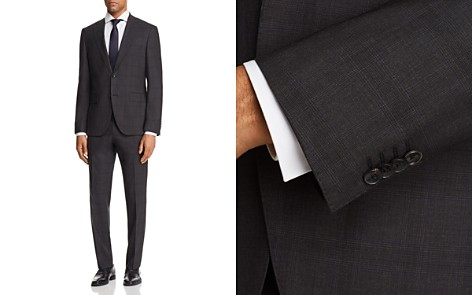BOSS Johnstons/Lenon Regular Fit Plaid with Windowpane Suit - 100% Exclusive - Bloomingdale's_2