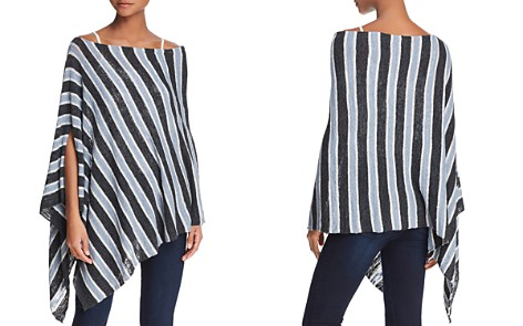 Minnie Rose Striped Poncho - Bloomingdale's_2