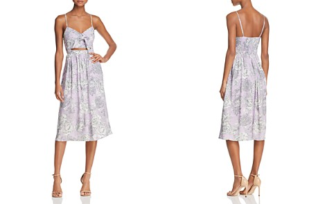 Bardot Ibiza Cutout Floral Midi Dress - 100% Exclusive - Bloomingdale's_2