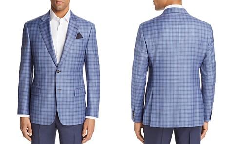 Emporio Armani Tonal Check Regular Fit Sport Coat - Bloomingdale's_2
