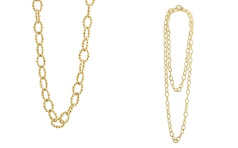 "LAGOS Caviar Gold Collection 18K Gold Beaded Link Necklace, 32"" - Bloomingdale's_2"
