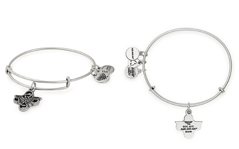 Alex and Ani Wonder Woman Lasso Knot Expandable Wire Bangle - Bloomingdale's_2