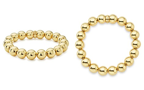 LAGOS Caviar Gold Collection 18K Gold Beaded Bracelet, 12mm - Bloomingdale's_2