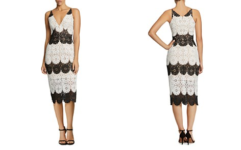 Dress the Population Vera Lace Dress - Bloomingdale's_2