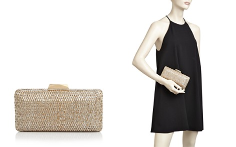 Sondra Roberts Metallic Clutch - Bloomingdale's_2