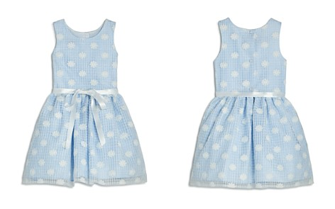 Pippa & Julie Girls' Daisy Lace Gingham Dress - Little Kid - Bloomingdale's_2