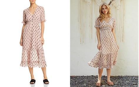 Lost + Wander Brooke Chevron-Print Midi Dress - Bloomingdale's_2