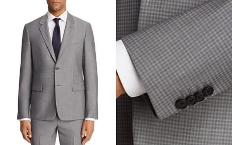 Theory Chambers Tailored Gingham Slim Fit Suit Jacket - Bloomingdale's_2