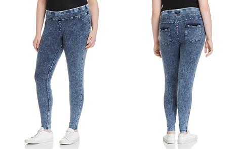 Marc New York Performance Plus Knit Denim-Look Leggings - Bloomingdale's_2