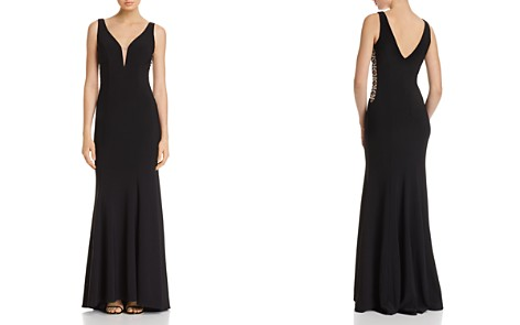 Avery G Embellished Illusion Gown - Bloomingdale's_2