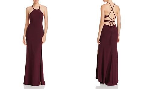 Avery G Strappy-Back Gown - Bloomingdale's_2