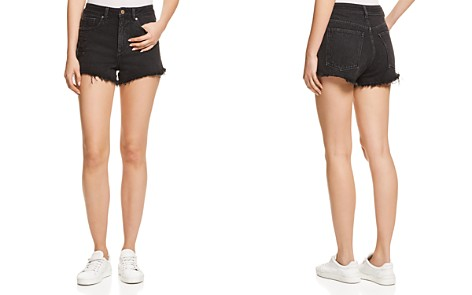 DL1961 Cleo High Rise Jean Shorts in Runaway - Bloomingdale's_2