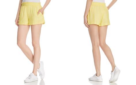 Joie Fenna Smocked-Waist Shorts - Bloomingdale's_2