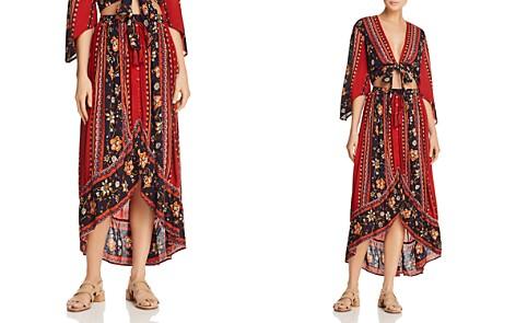 Band of Gypsies Pleated Floral-Print Skirt - Bloomingdale's_2