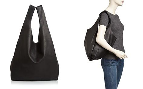 Baggu Leather Hobo - Bloomingdale's_2