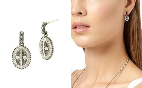 Freida Rothman Pavé Oval Drop Earrings - Bloomingdale's_2