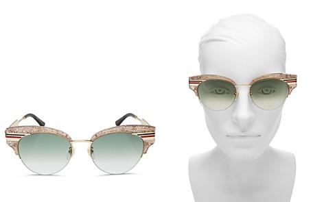 Gucci Women's Vintage Cat Eye Sunglasses, 53mm - Bloomingdale's_2