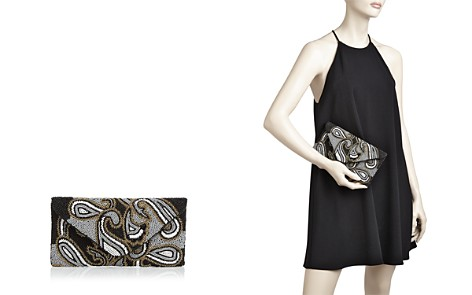 From St Xavier Paisley Beaded Clutch - Bloomingdale's_2