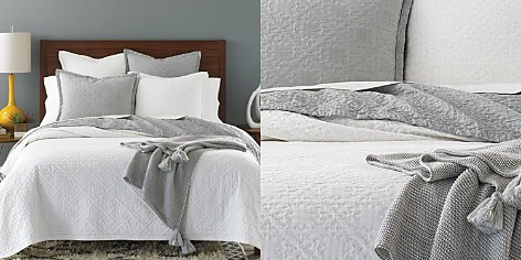 Sky Tile Matelassé Quilted Collection - 100% Exclusive - Bloomingdale's_2