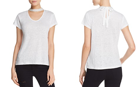 Generation Love Erica Embellished Cutout Tee - 100% Exclusive - Bloomingdale's_2