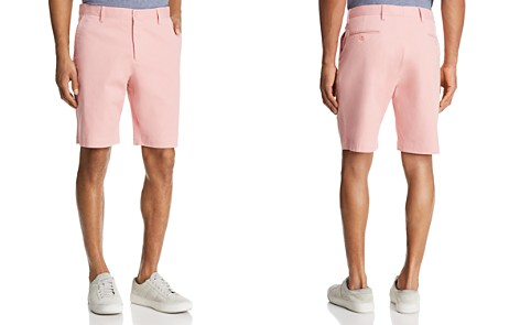 The Men's Store at Bloomingdale's Twill Regular Fit Shorts - 100% Exclusive_2