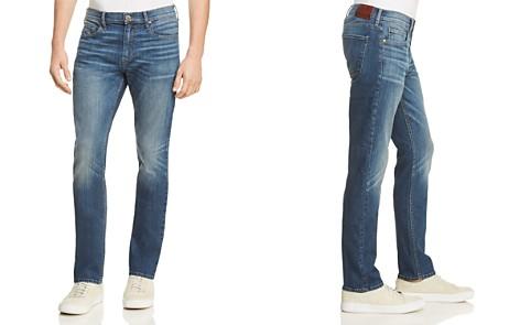 PAIGE Federal Slim Fit Jeans in Harlan - Bloomingdale's_2
