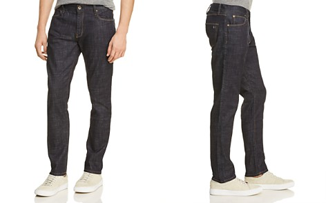 Double Eleven Straight Fit Jeans in Dark Indigo - Bloomingdale's_2