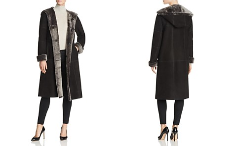 Maximilian Furs Brissa Reversible Lamb Shearling Coat - 100% Exclusive - Bloomingdale's_2