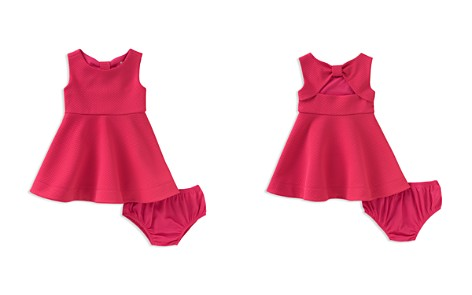 kate spade new york Girls' Vivian Textured Bow Dress & Bloomers Set - Baby - Bloomingdale's_2