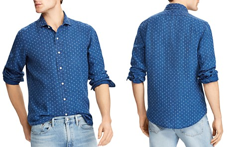 Polo Ralph Lauren Indigo Classic Fit Button-Down Shirt - Bloomingdale's_2