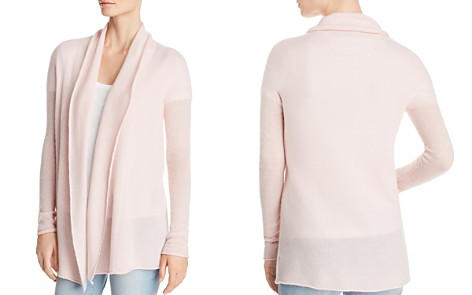 C by Bloomingdale's Open-Front Lightweight Cashmere Cardigan - 100% Exclusive _2