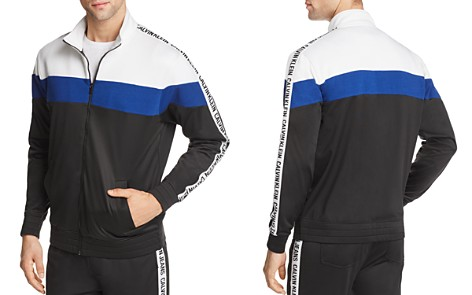 Calvin Klein Tricot Logo Track Jacket - 100% Exclusive - Bloomingdale's_2