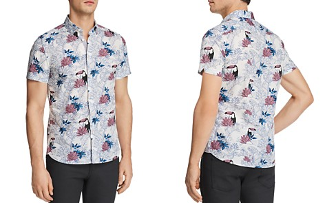 Ted Baker Blomtoc Regular Fit Button-Down Shirt - 100% Exclusive - Bloomingdale's_2