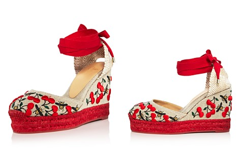 Castañer Women's Carina Merlion Park Embroidered Ankle Tie Wedge Espadrilles - Bloomingdale's_2