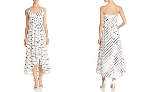 AQUA Polka Dot Faux-Wrap Maxi Dress - 100% Exclusive - Bloomingdale's_2