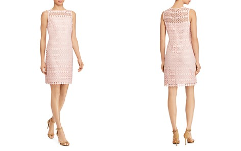 Lauren Ralph Lauren Petites Geo Lace Dress - Bloomingdale's_2