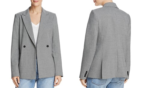 Dylan Gray Double-Breasted Micro Houndstooth Blazer - Bloomingdale's_2