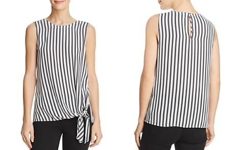 Dylan Gray Striped Side-Tie Top - Bloomingdale's_2