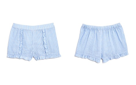 Design History Girls' Ruffled Seersucker Shorts - Little Kid - Bloomingdale's_2