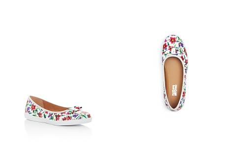 Salvatore Ferragamo Girls' Floral Print Leather Sneaker Flats - Toddler, Little Kid, Big Kid - Bloomingdale's_2