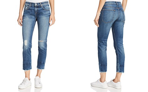 rag & bone/JEAN Dre Distressed Slim Boyfriend Ankle Jeans in Deville - Bloomingdale's_2