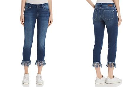 Mavi Kerry Ankle Jeans in Dark Destructed Vintage - Bloomingdale's_2