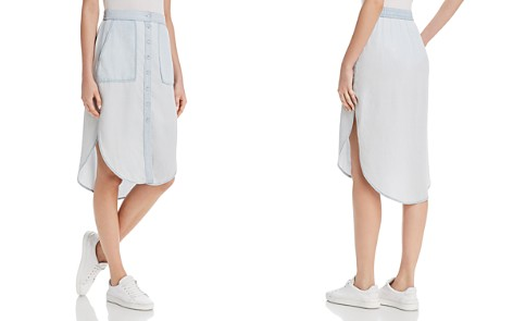 DL1961 White & Varet Chambray Skirt - Bloomingdale's_2