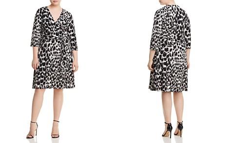 Leota Plus Printed Faux-Wrap Dress - Bloomingdale's_2