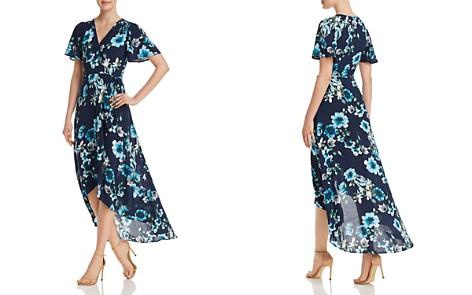 Cotton Candy LA Floral Print Maxi Wrap Dress - Bloomingdale's_2