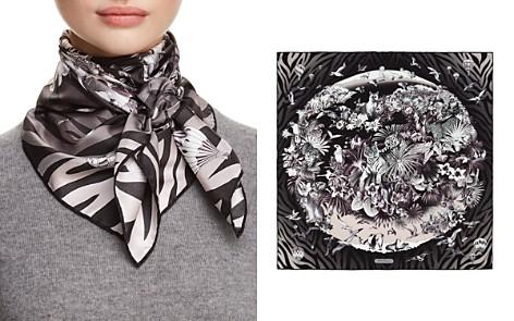 Salvatore Ferragamo Olimpo Printed Silk Scarf - Bloomingdale's_2
