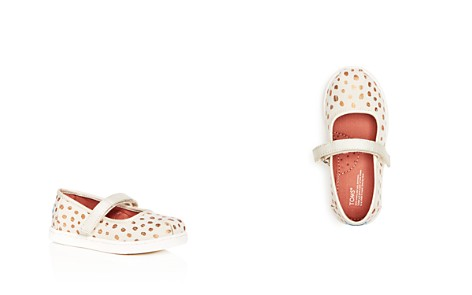 TOMS Girls' Rose Gold Dots Mary Jane Flats - Toddler, Little Kid, Big Kid - Bloomingdale's_2