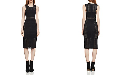 BCBGMAXAZRIA Sita Lace Sheath Dress - Bloomingdale's_2