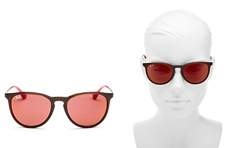 Ray-Ban Mirrored Round Sunglasses, 54mm - Bloomingdale's_2
