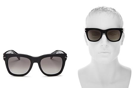 rag & bone Men's Iconic Classic Polarized Square Sunglasses, 55mm - Bloomingdale's_2
